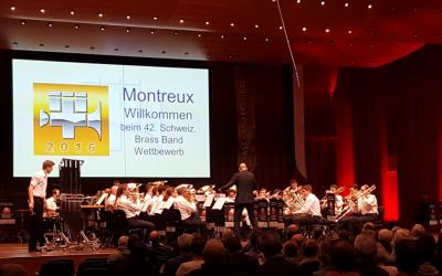 Championnat Suisse des Brass Band Montreux 2016