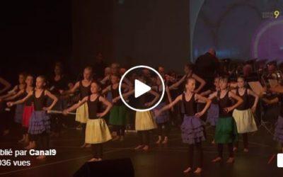 Magnifique spectacle au Baladin à Savièse avec l'Echo du Rawyl et les majorettes d'Ayent